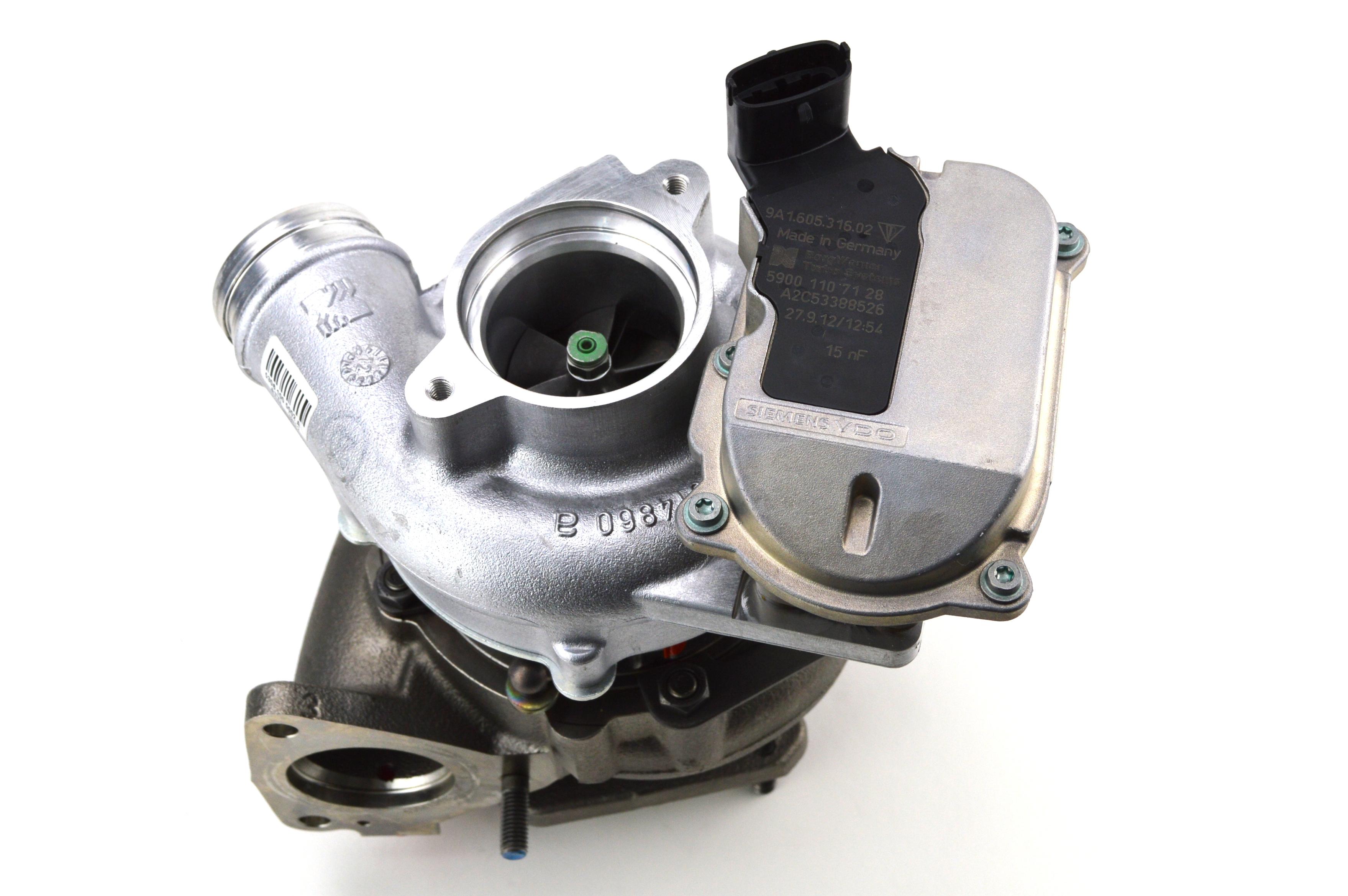 Turbolader Porsche