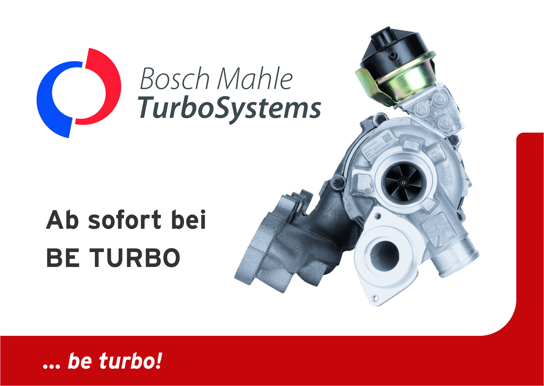 Turbolader von Bosch Mahle Turbo Systems bei BE TURBO