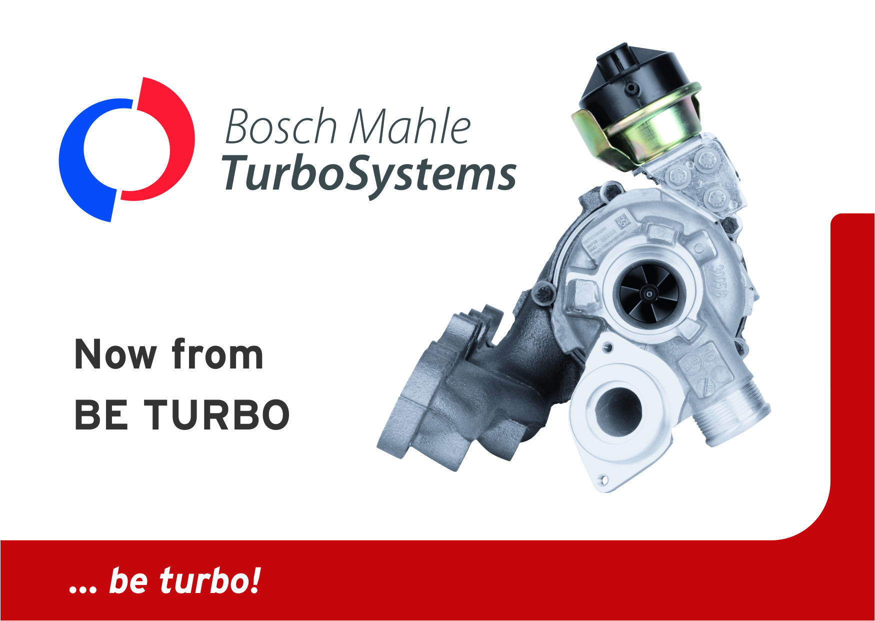 Bosch Mahle Turbo Systems Turbocharger from BE TURBO