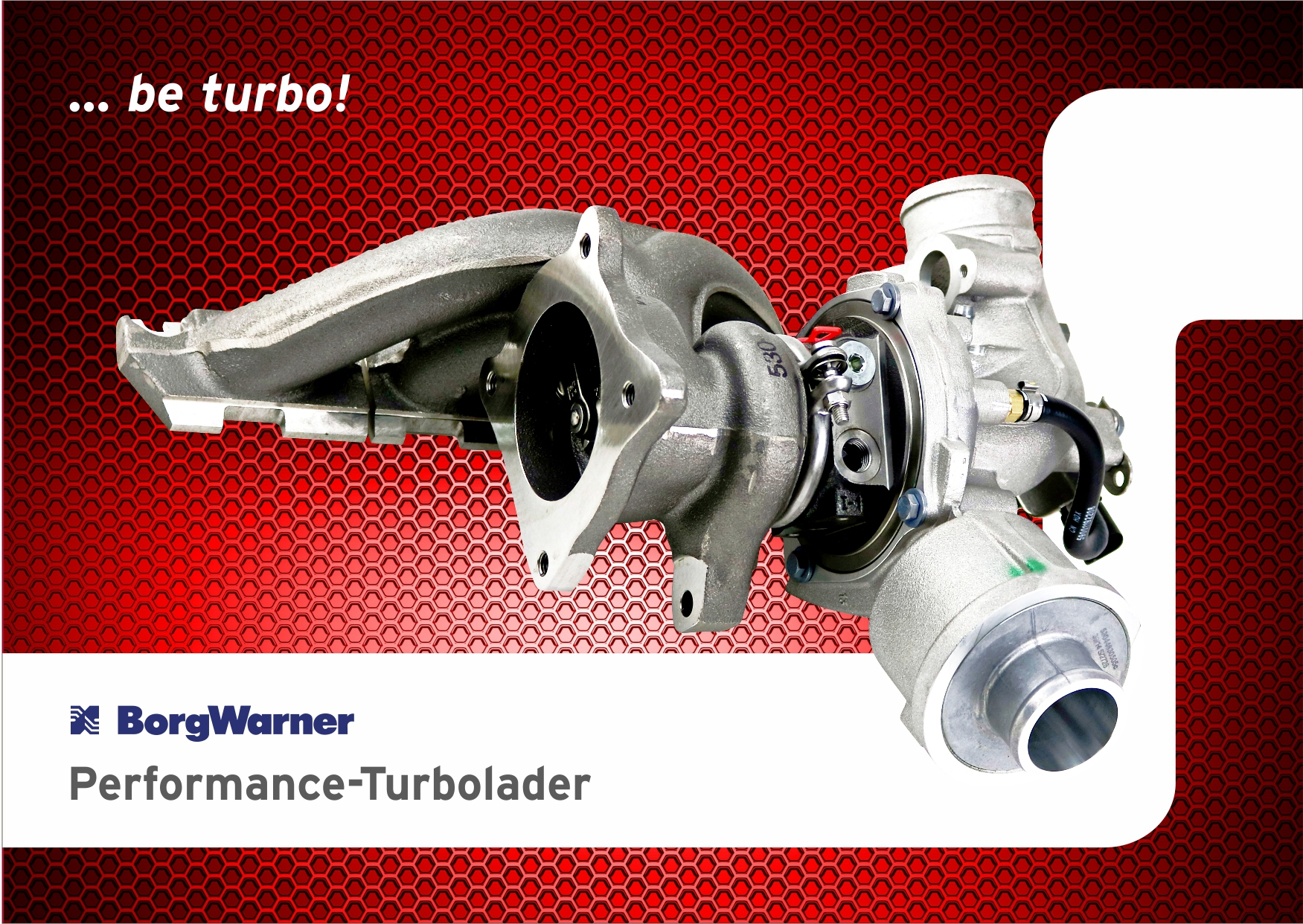 BorgWarner Performance-Turbolader von BE TURBO